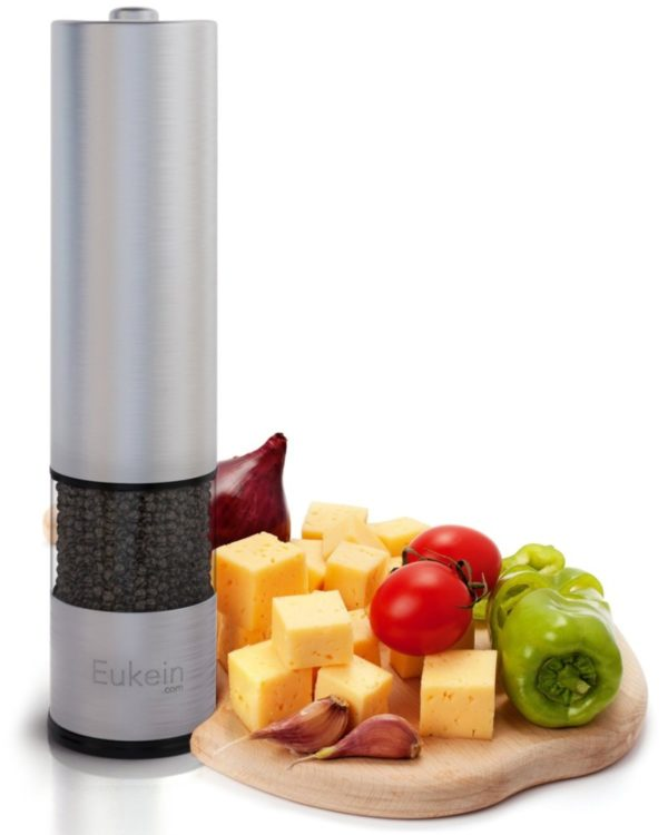 Eukein Electric 9.5-inch Pepper Grinder Mill