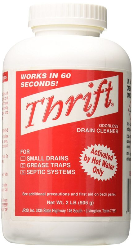 Thrift Marketing GIDDS-TY-0400879 2lb Drain Cleaner