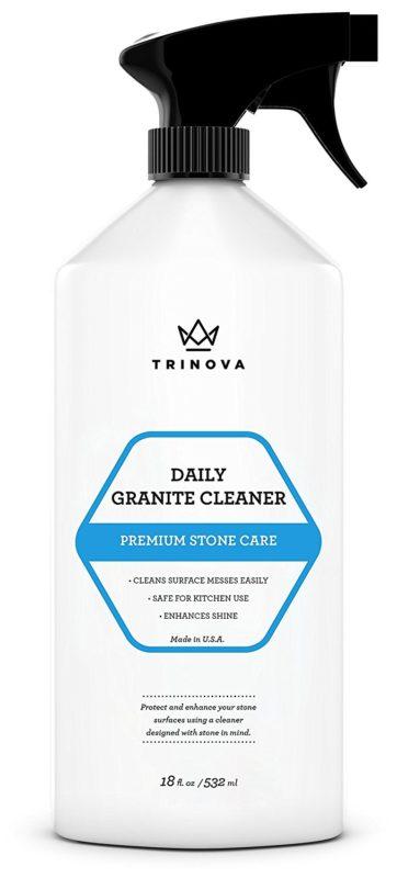 TriNova 18-ounce Granite Cleaner and Polish Spray