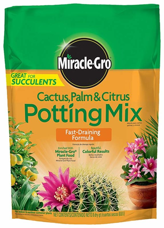 Miracle-Gro 8-quart Cactus, Palm, and Citrus Potting Mix