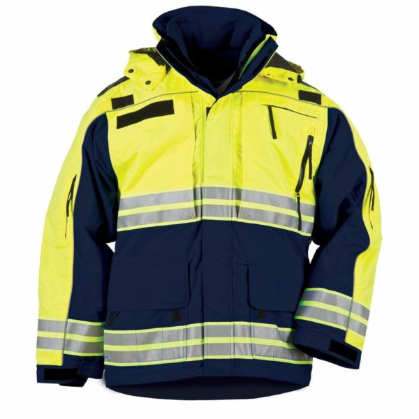 5.11 Tactical 48073 Men's Responder High-Vis Parka Tactical Jacket