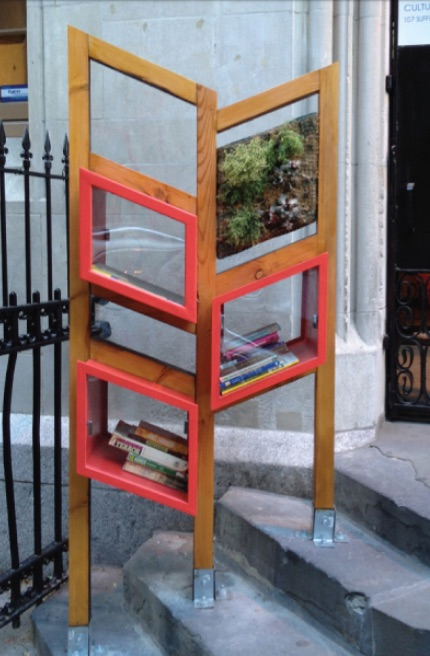 Clement Solo Velez step little library