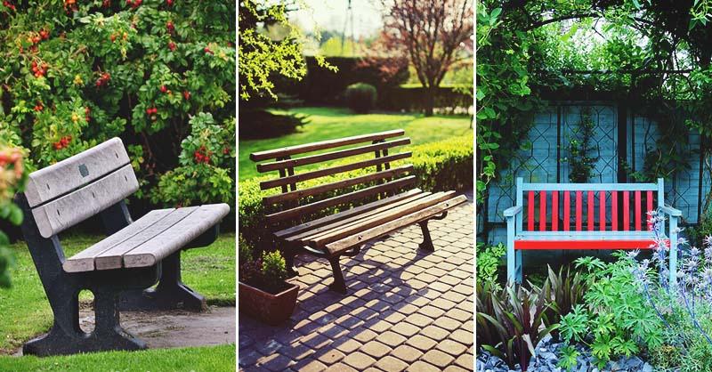 28 diy garden bench plans you can build to enjoy your yard - Garden Bench