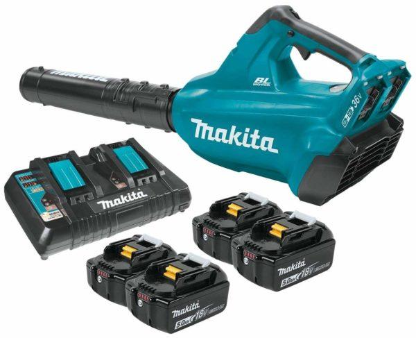 Makita XBU02PT 18V X2 36-volt Cordless Leaf Blower Kit