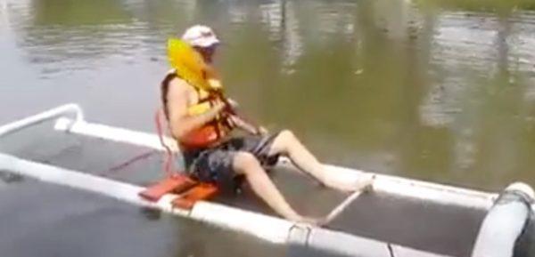 Delightful PVC DIY Kayak