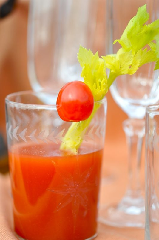 Bloody Mary with Peppers