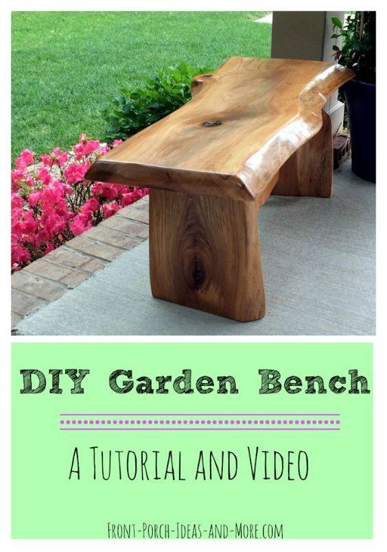 cherry bench seat - Diy Garden Bench