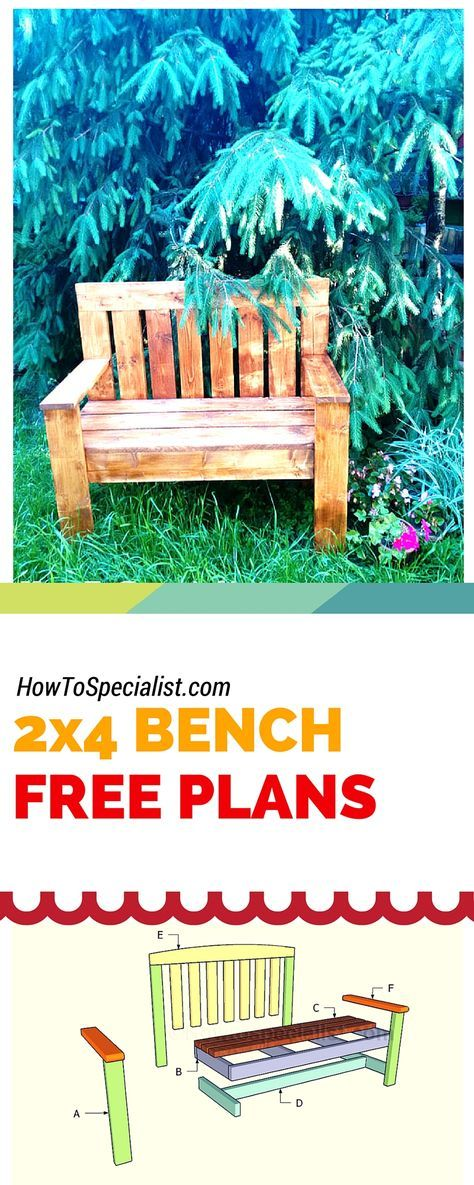 2×4 Bench Plans