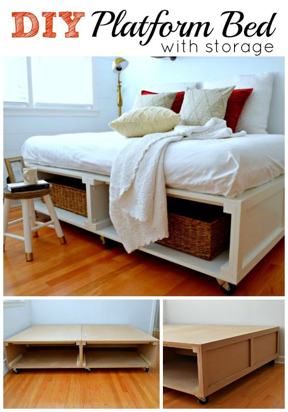 22 Spacious Diy Platform Bed Plans Suited To Any Cramped Budget