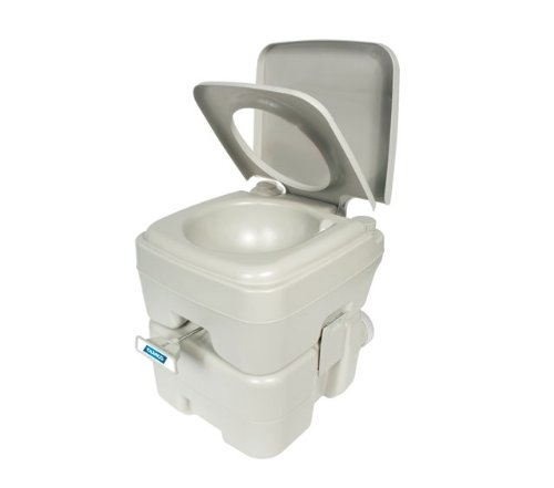 Camco Standard 5.3-Gallon Portable Travel Toilet