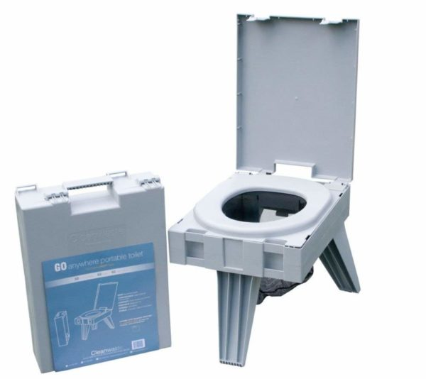 Cleanwaste Portable Toilet with Waste Kit