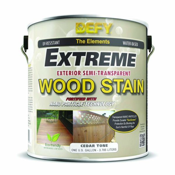 DEFY Extreme 1 Gallon Semi-Transparent Exterior Wood Stain