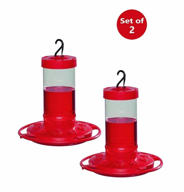 First Nature 3051 16-ounce Hummingbird Feeder 2 Pack
