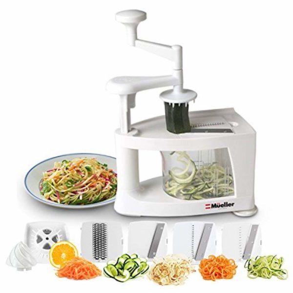 Mueller Spiral-Ultra 8-in1 Spiralizer Slicer