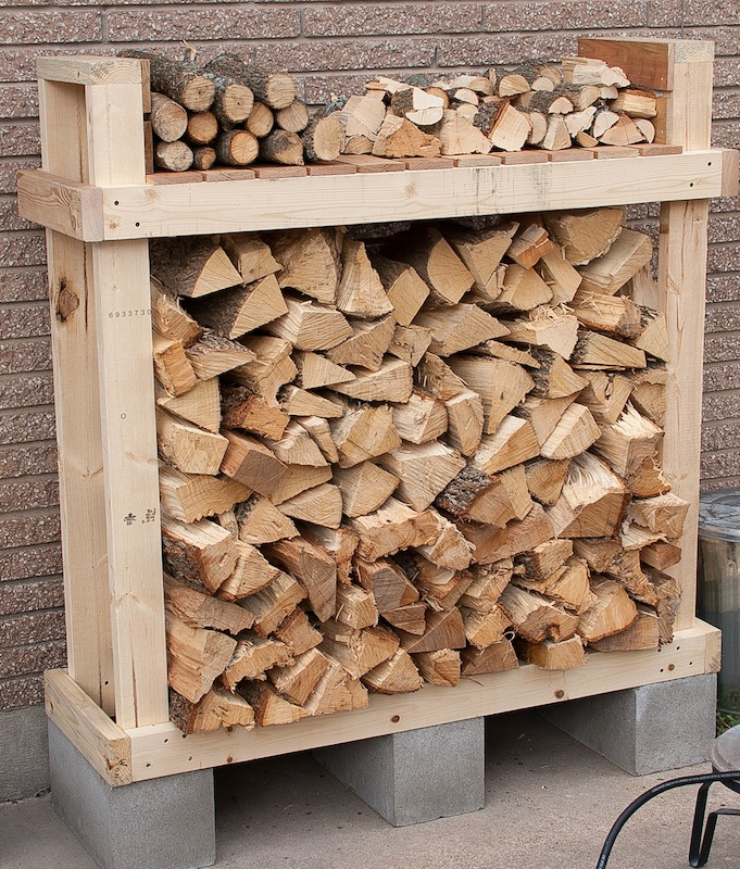 20 Easy To Build Diy Firewood Shed Plans And Design Ideas
