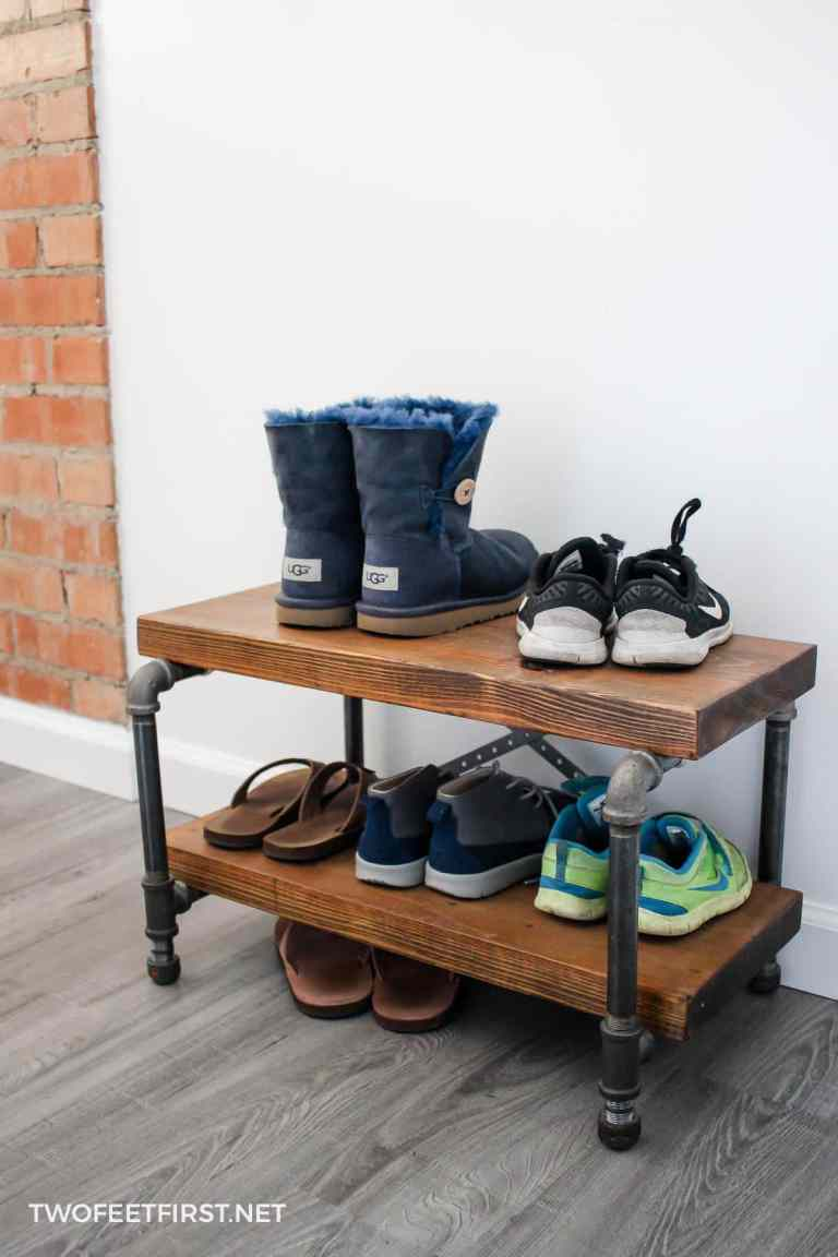 22 Chaos-Eliminating DIY Shoe Rack Ideas