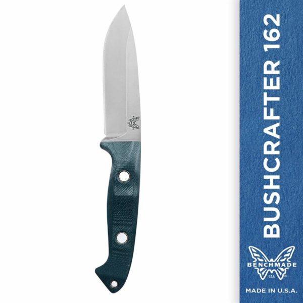 Benchmade Bushcrafter 162 4.40-inch Fixed Blade Knife