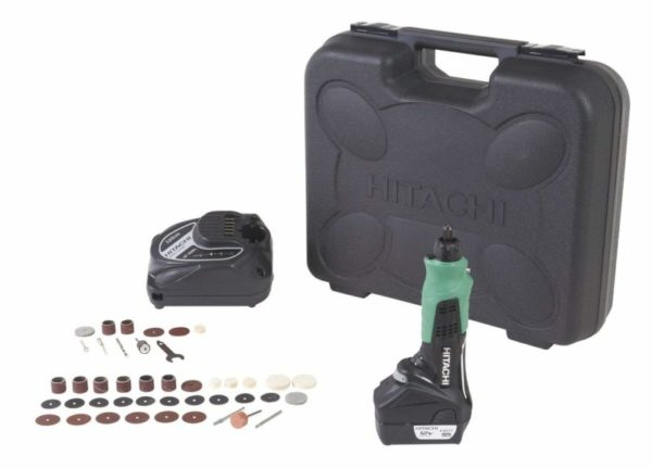 Hitachi GP10DL Cordless Rotary Tool With 40-Piece Accessory Set