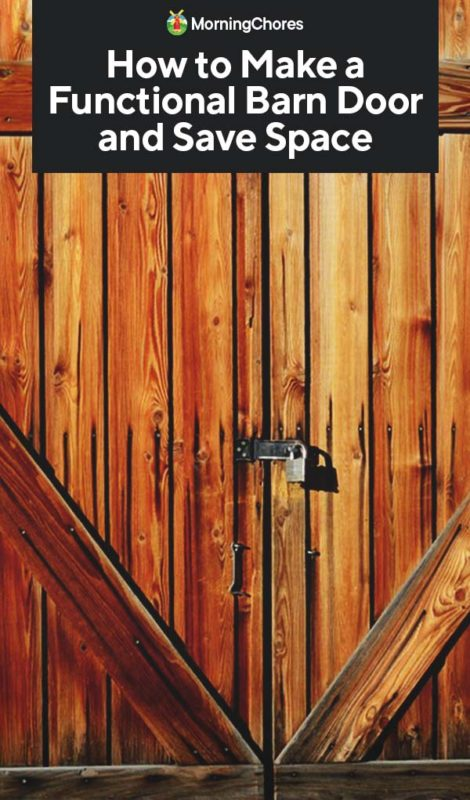 How To Make A Diy Barn Door