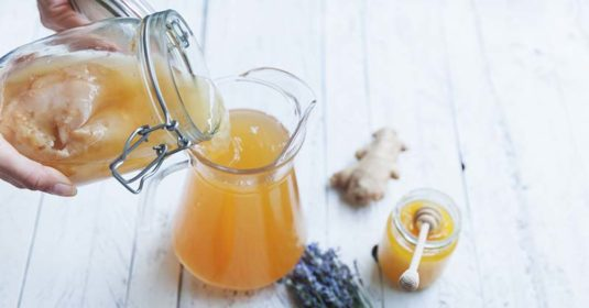 How to Make an Endless Supply of Kombucha with Very Little Work
