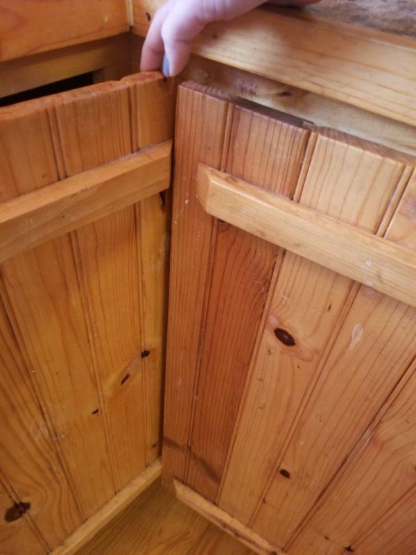 corner cabinet doors