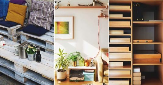 80 Charming DIY Pallet Furniture Tutorials and Plans