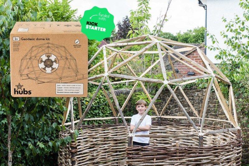 diy geodesic dome