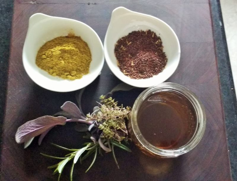 spices for infused vinegar recipes