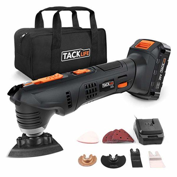 Tacklife PMT03B 20V Max Cordless Oscillating Tool