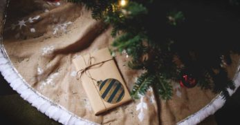 Create a DIY Christmas Tree Skirt from One of These 16 Tree Skirt Ideas