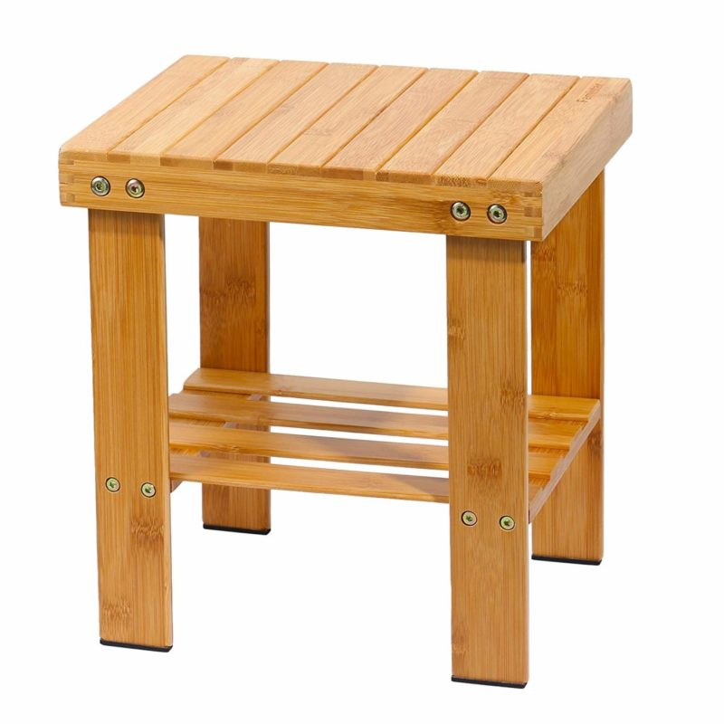 Famistar Bamboo Stool Seat