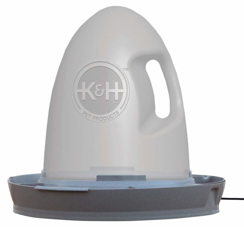K & H Pet Products 2.5-gallon Thermo-Poultry Waterer