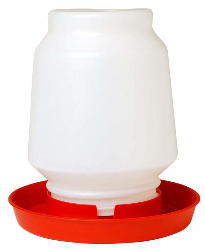 Little Giant 1-Gallon Plastic Poultry Fount Complete Waterer