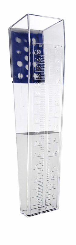 OUTWEST TRADING 6-inch Professional Outdoor Rain Gauge