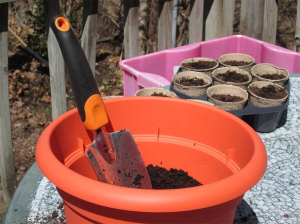 Herb garden supplies