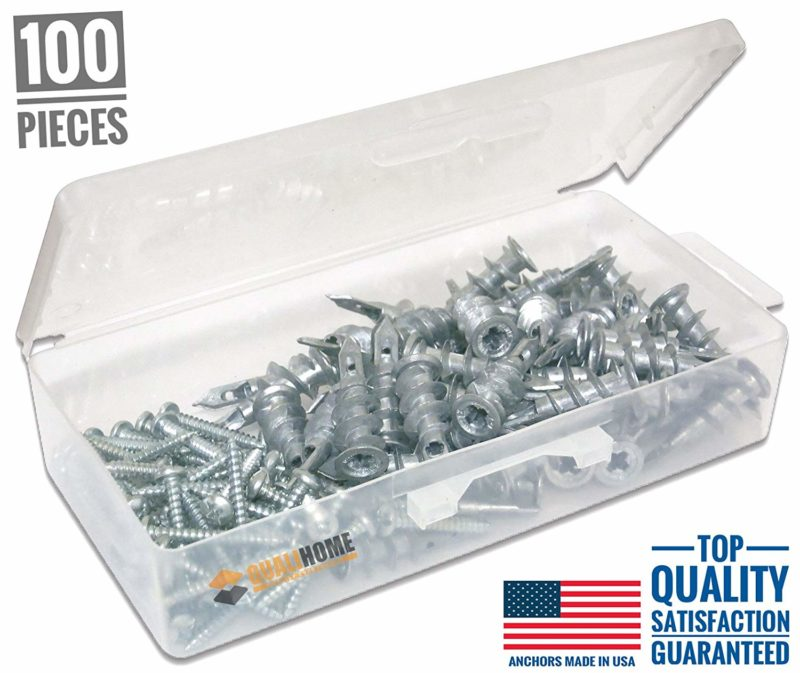 Qualihome Self Drilling Drywall Anchors 100-piece Kit