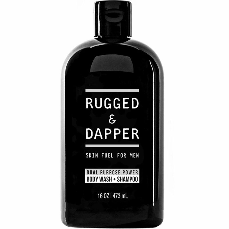 RUGGED & DAPPER 16-ounce Shampoo and Body Wash for Men