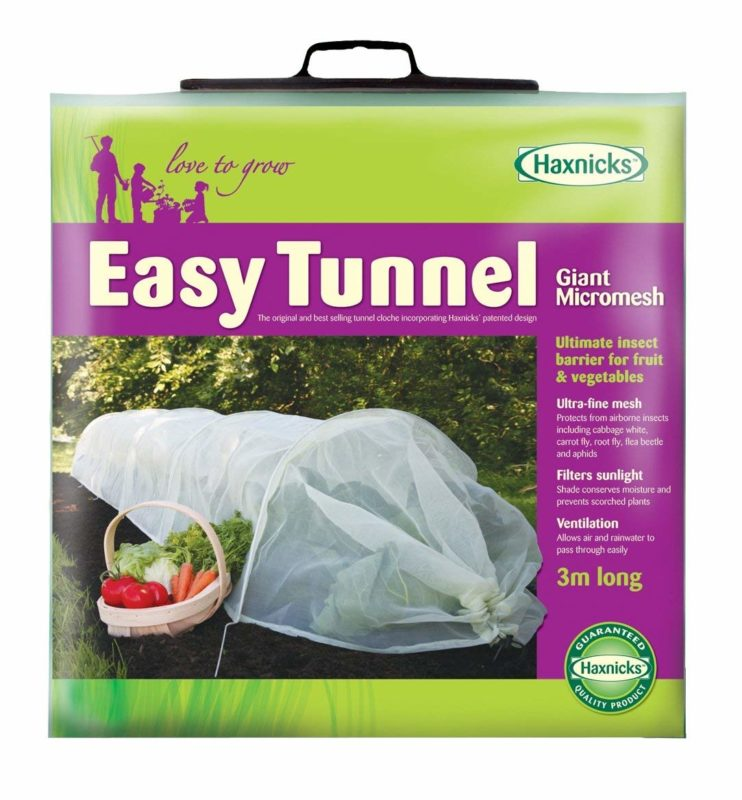 Tierra Garden 50-5030 3 meter Haxnicks Tunnel Garden Cloche Row Cover