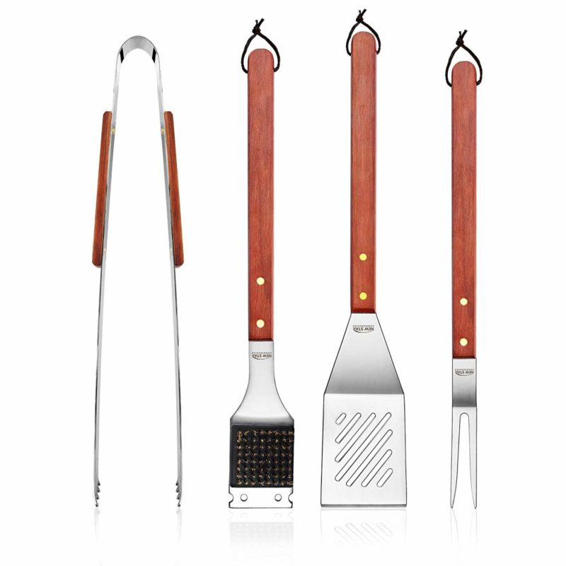 New Star Foodservice 59007 4-Piece Grill Tool Set