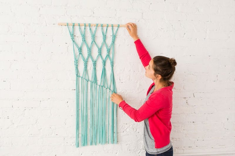 beginner macrame art
